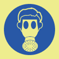 Picture of Wear respirator symbol