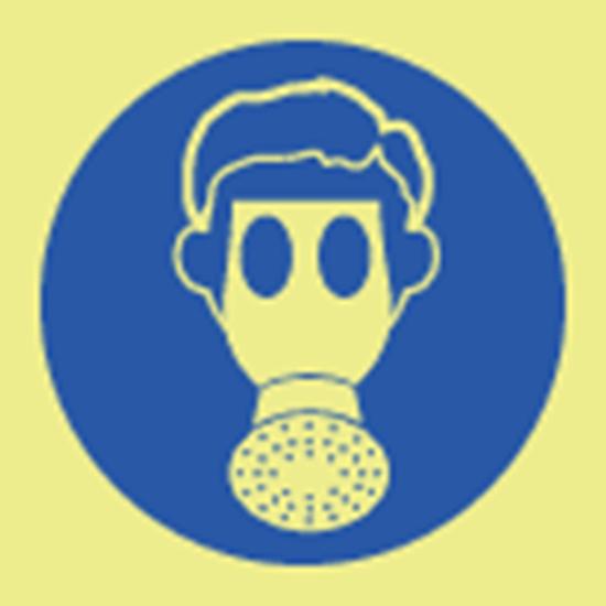 Picture of Wear respirator symbol