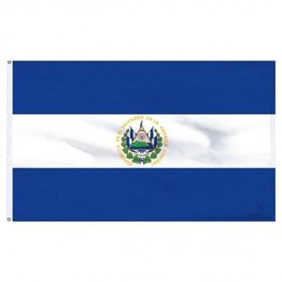 Picture of El Salvador Flag 4'x6'