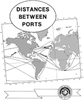 Picture of Pub. 151 Distance Between US Ports 3rd Edition