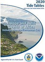 Picture of Tide Tables 2021: Europe and West Coast of Africa including the Mediterranean Sea