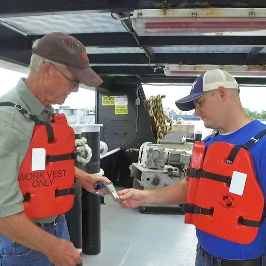 Picture of Vessel Visitor Orientation