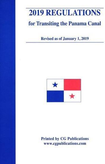 Picture of 2019 Regulations and Navigation in the Panama Canal Waters (including CD-ROM)