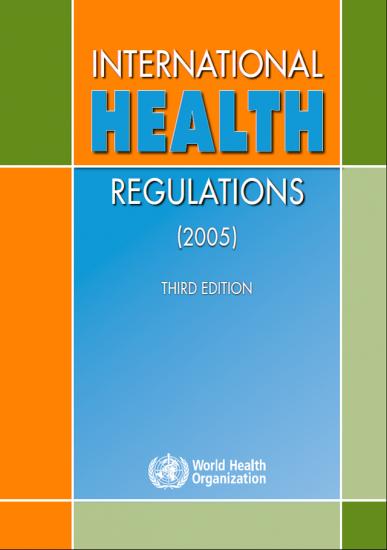 Picture of International Health Regulations