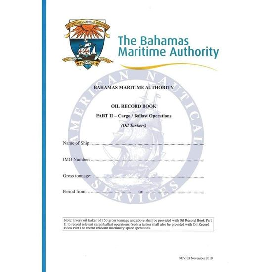 Picture of Bahamas Oil Record Book part
